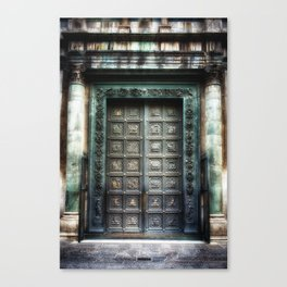 Doors of the Baptistry, Florence, Italy Canvas Print