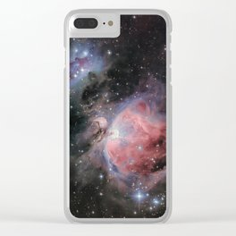 Orion Nebula #2 Clear iPhone Case