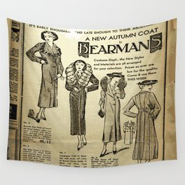 Fashion 1935 Wall Tapestry