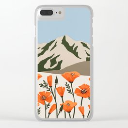 Marin County Print Clear iPhone Case