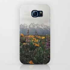 Wildflowers and Mountains - Summer in the Tetons Slim Case Galaxy S7