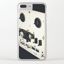 Old Glory Clear iPhone Case