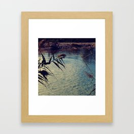 summer chillout Framed Art Print