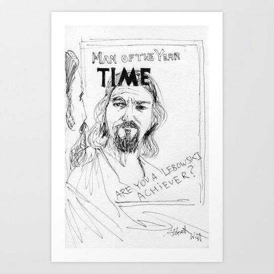 The Dude Art Print