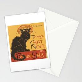 Tournee du Chat Noir De Rodolphe Salis Vector Stationery Cards