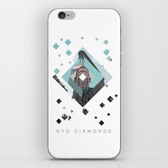 New York City Diamonds iPhone & iPod Skin