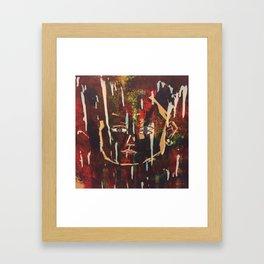 Krank Framed Art Print