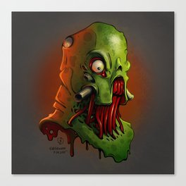 Monster 01 Canvas Print
