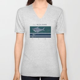 The Megalodon Unisex V-Neck