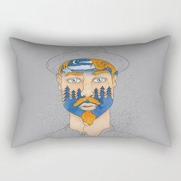 Forest Man Rectangular Pillow