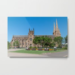 St Mary's Cathedral, Sydney, Australia Metal Print