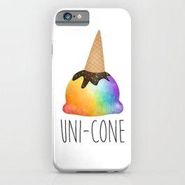 Uni-cone iPhone Case
