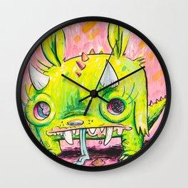 Spirit Animal: Subatomic Photo Muncher Wall Clock