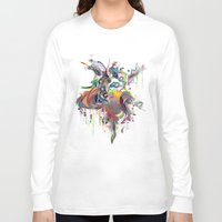 archan nair Long Sleeve T-shirts featuring Etilazh by Archan Nair