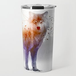 A Wilderness Within / Wolf Travel Mug