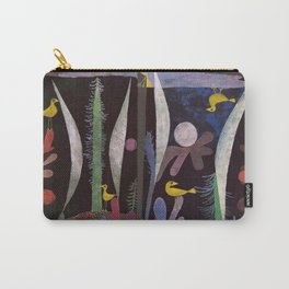 Landscape With Yellow Birds Paul Klee Carry-All Pouch