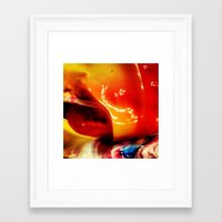 ombre Framed Art Prints featuring Ombre by AcerbicAndrewArt