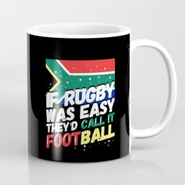 South African Rugby - Funny Rugby Player Gift Coffee Mug