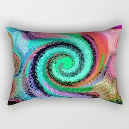 Sticky Love Mosaic Rectangular Pillow