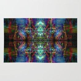 Trippy Kalidescope Pattern Rug