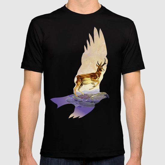 Pronghorn in the Morning T-shirt