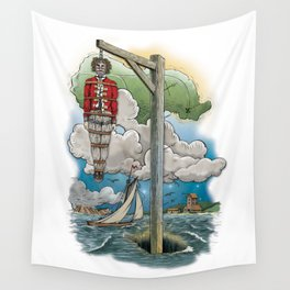 Captain Kiddless Variant Wall Tapestry