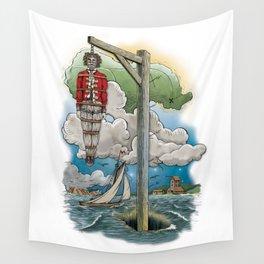 Captain Kiddless Variant Wall Tapestry