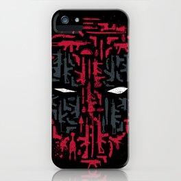 Merc Arsenal iPhone Case