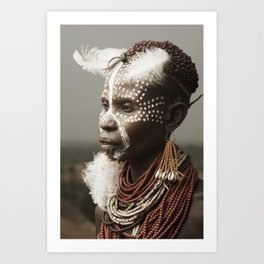 Karo Beauty. Art Print