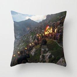 Newroz in Akre Throw Pillow