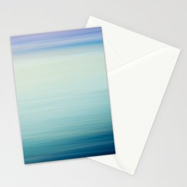 I Love the Sea Ombre Abstract Stationery Cards