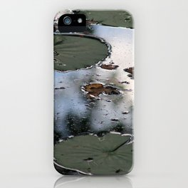 Lily Pads at the Arboretum iPhone Case