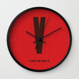 Typeporn Vol.1 Wall Clock
