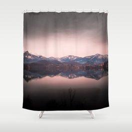 Avigliana Lake Shower Curtain
