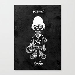 BONEY Skateboarding series - 01 Canvas Print