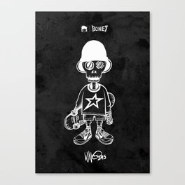 BONEY Skateboarding series - 01 Canvas Print
