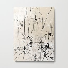 Neurons Metal Print