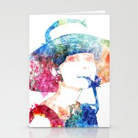 hepburn Stationery Cards featuring Audrey Hepburn by Heaven7