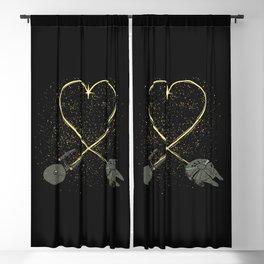Wars Love Blackout Curtain