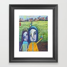 Magical Display Framed Art Print