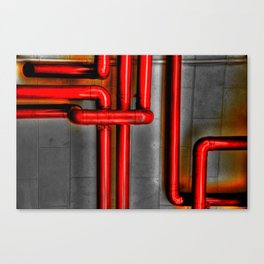 In The Pipes Canvas Print