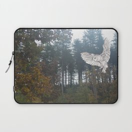 Owl in the Forest Laptop Sleeve