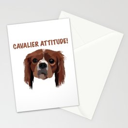 Cavalier Attitude! Stationery Cards