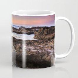 Yachats, Oregon Tide Pools at Sunset Coffee Mug