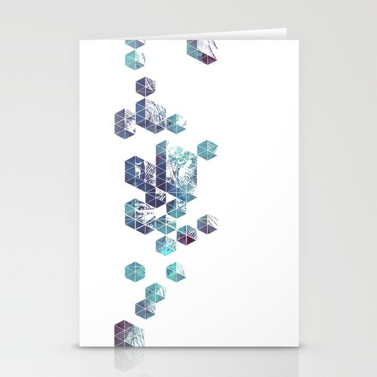 Majestic Collision Stationery Cards