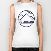 colorado Biker Tanks featuring Colorado by BMaw