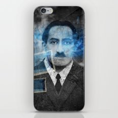 Don't be blue iPhone & iPod Skin