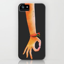 sorry iPhone Case