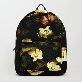 Floral Night I Backpack