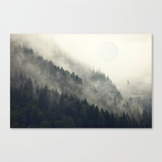 Forest Moon Canvas Print